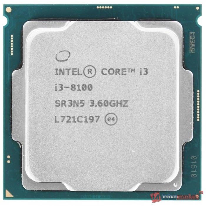 Процессор Intel Core i3-8100 Coffee Lake (OEM)