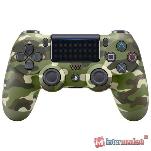 Джойстик Sony PS4 Dualshock Cont Green Cammo (CUH-ZCT2E)