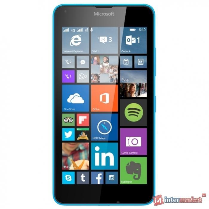 Смартфон Microsoft Lumia 640 LTE Dual Sim, Cyan