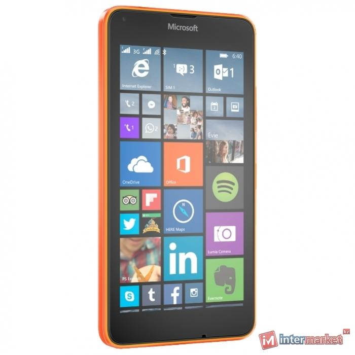 Смартфон Microsoft Lumia 640 3G Dual Sim, Orange