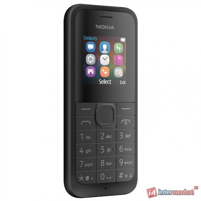 Мобильный телефон Nokia 105 Dual Sim, Black (RM-1133)