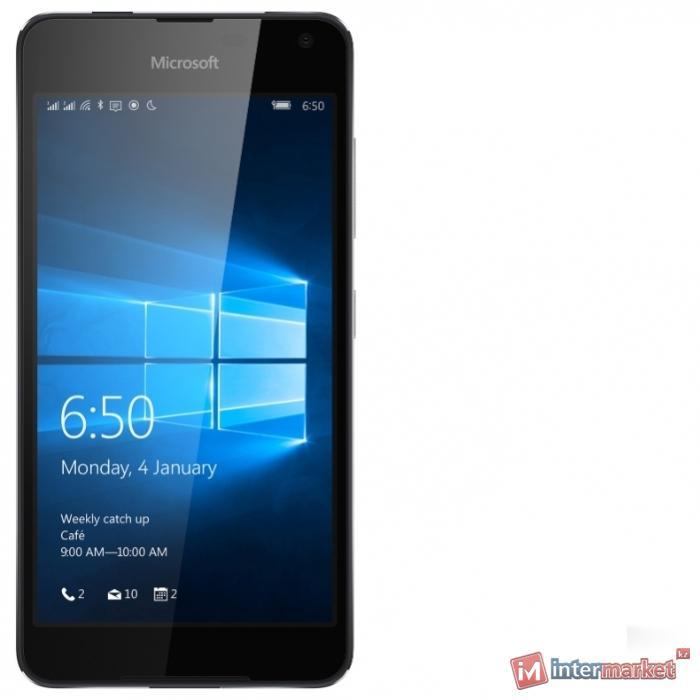 Смартфон Microsoft Lumia 650 Dual Sim, Black