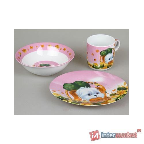 Набор детской посуды Rosenberg 8762 (3 пр.)