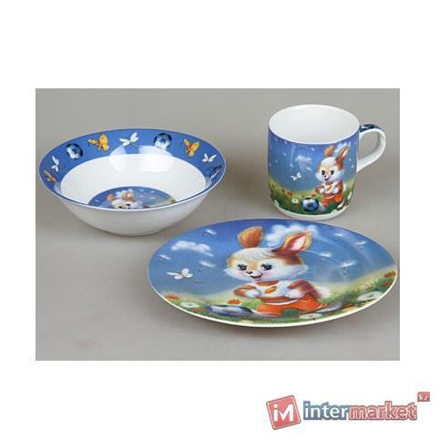 Набор детской посуды Rosenberg 8767 (3 пр.)