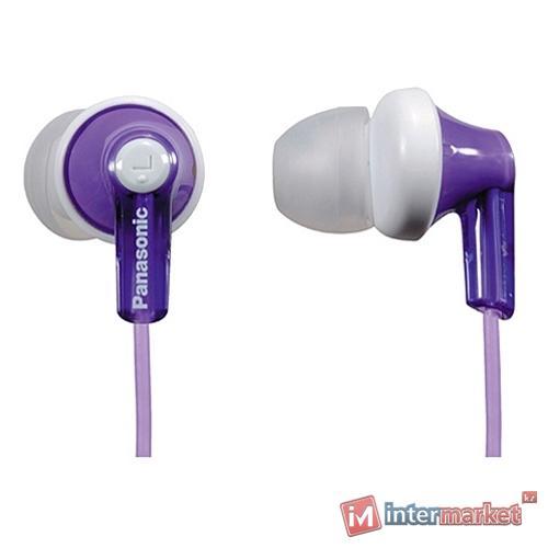 Наушники Panasonic RP-HJE118 (фиолетовые)