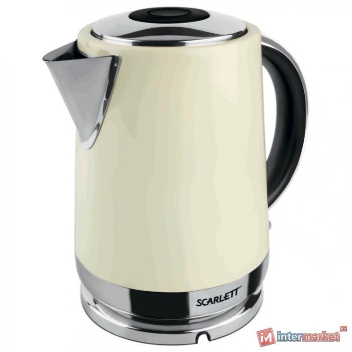 Чайник Scarlett SC-EK21S04, ваниль