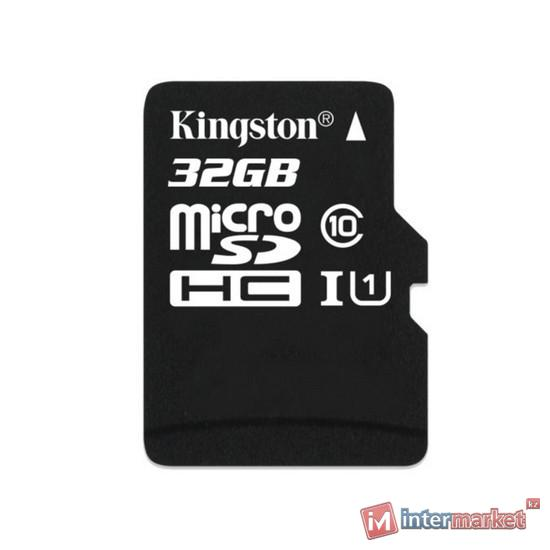 Карта памяти Kingston Class 10 MicroSDHC 32GB