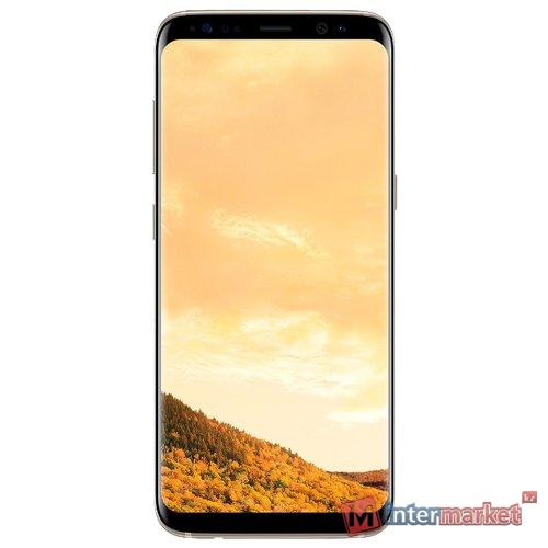 Смартфон Samsung Galaxy S8+, Maple Gold