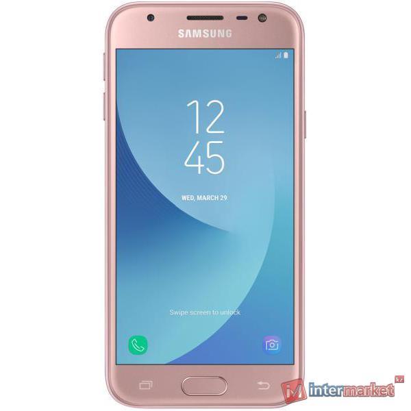 Смартфон Samsung Galaxy J3 (2017) Pink