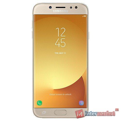 Смартфон Samsung Galaxy J7 (2017) Gold