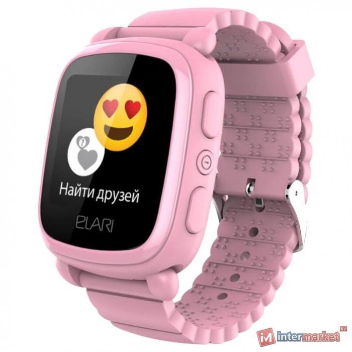 Смарт часы Elari KIDPHONE 2 розовый