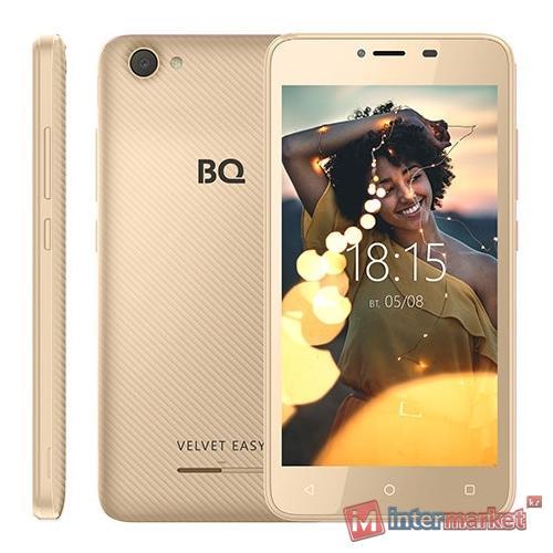 Смартфон BQ-5000G Velvet Easy Blue 4.5
