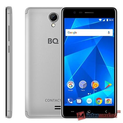 Смартфон BQ BQ-5001L Contact Silver