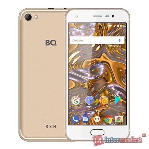 Смартфон BQ 5012L Rich Gold