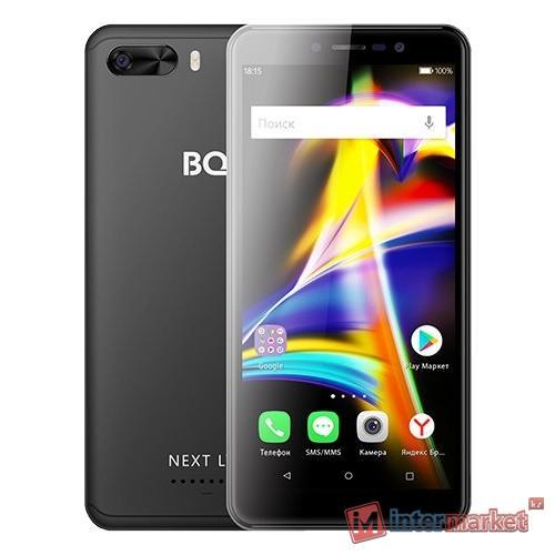Смартфон BQ BQ-5508L Next LTE, Black