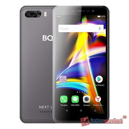 Смартфон BQ BQ-5508L Next LTE, Grey