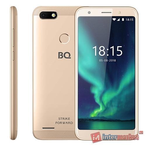 Смартфон BQ BQ-5512L Strike Forward Gold