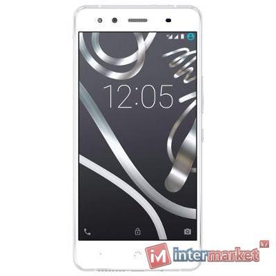 Смартфон BQ Aquaris X5, White-Silver