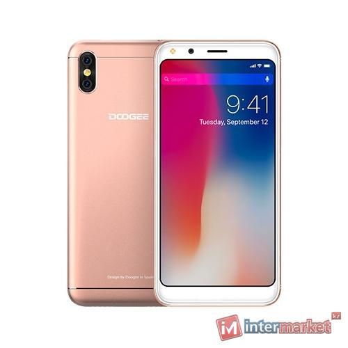 Смартфон DOOGEE X53, rose gold