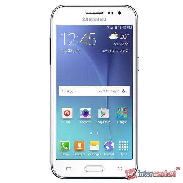 Смартфон Samsung Galaxy J2 (SM-J200HZWDSKZ) white