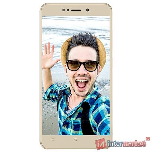 Смартфон Gionee X1, Gold