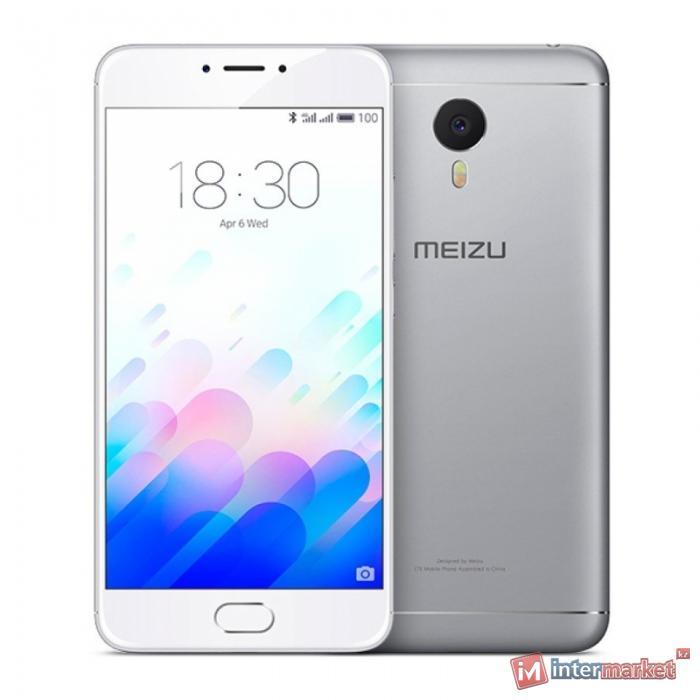 Смартфон Meizu M3 Note, Silver-White