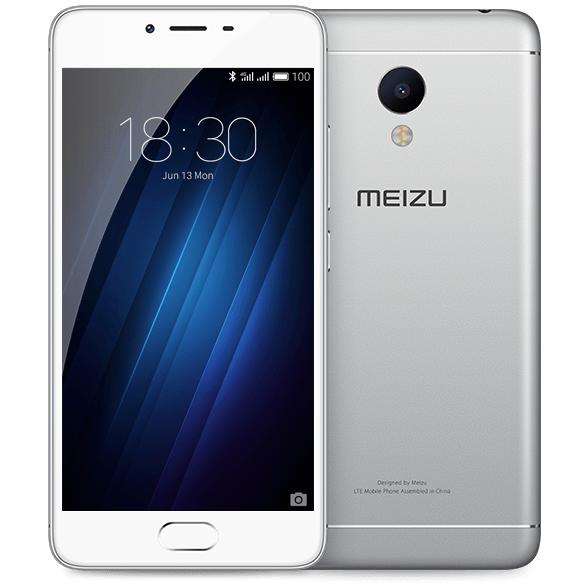 Смартфон Meizu M3s, 16Gb, Silver