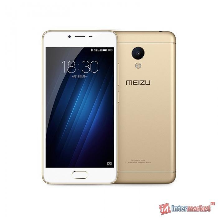 Смартфон Meizu M3s, 32Gb, Gold