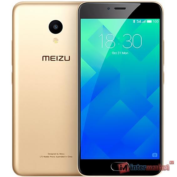 Смартфон Meizu M5 16Gb, Gold
