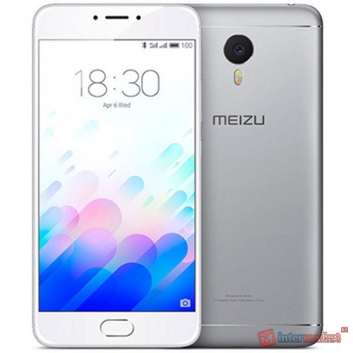 Смартфон Meizu M5s 16GB, Silver