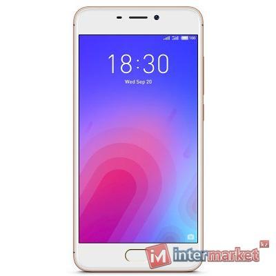 Смартфон Meizu M6 16GB Gold