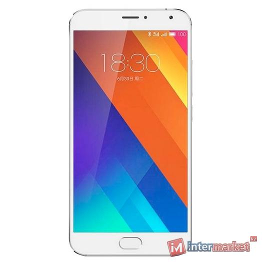Смартфон Meizu MX5 32Gb, White-Silver