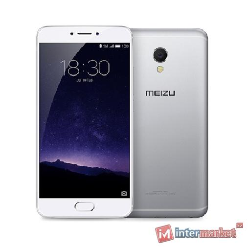 Смартфон MEIZU MX6 32GB, Silver