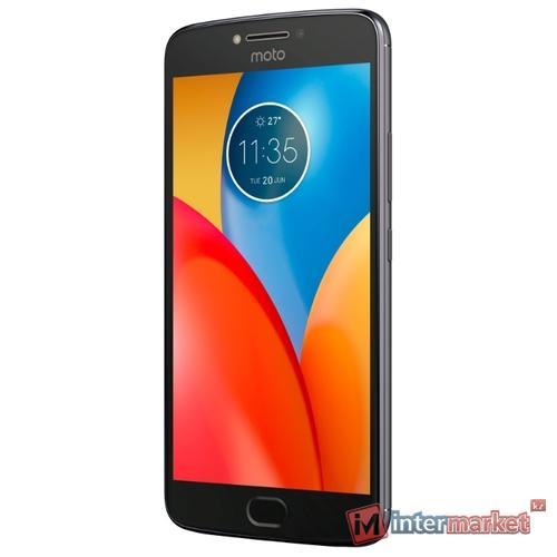 Смартфон Motorola Moto E4 Plus 16GB Gray
