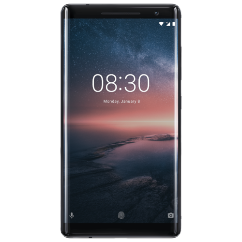 Смартфон Nokia 8 Sirocco Edition 128GB, Black