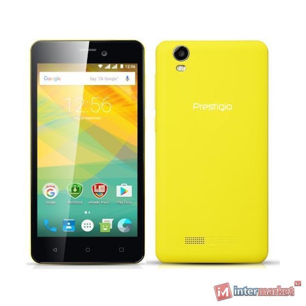 Смартфон Prestigio Wize NK3 Yellow