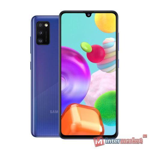 Смартфон Samsung Galaxy A41 Blue