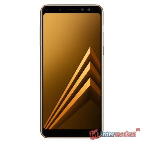 Смартфон Samsung Galaxy A8 (2018), Gold