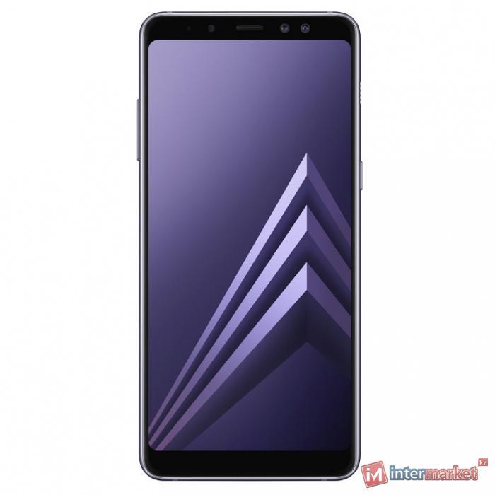 Смартфон Samsung Galaxy A8+ (2018), Orchid Grey