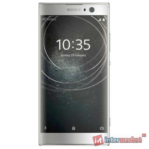 Смартфон Sony Xperia XA2 Dual, серебристый