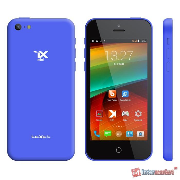 Смартфон teXet iX-mini TM-4182, Blue