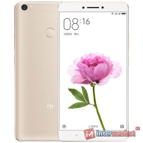 Смартфон Xiaomi Mi Max, 32Gb, Gold