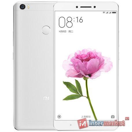 Смартфон Xiaomi Mi Max, 32Gb, Silver