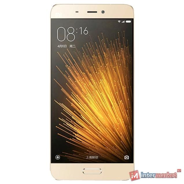 Смартфон Xiaomi Mi5, 32Gb, Gold
