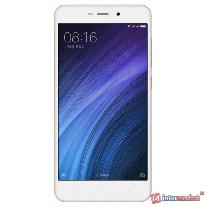 Смартфон Xiaomi Redmi 4A, 16Gb, Rose Gold