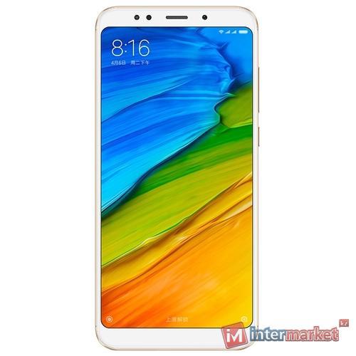 Смартфон Xiaomi Redmi 5 Plus 3/32GB, Gold