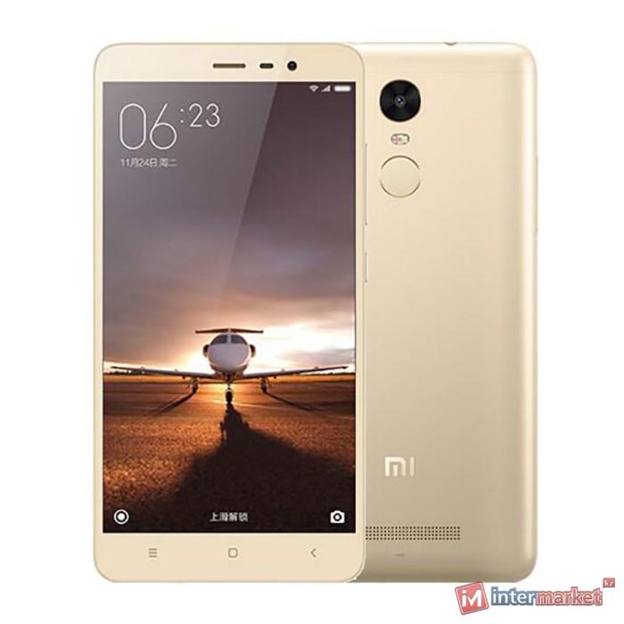 Смартфон Xiaomi Redmi Note 3, 32Gb, Gold