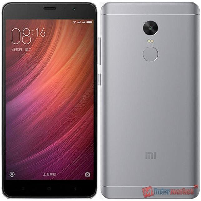Смартфон Xiaomi Redmi 4X 16GB, Grey