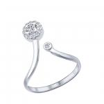 Кольцо Sokolov 94011538-18, серебро