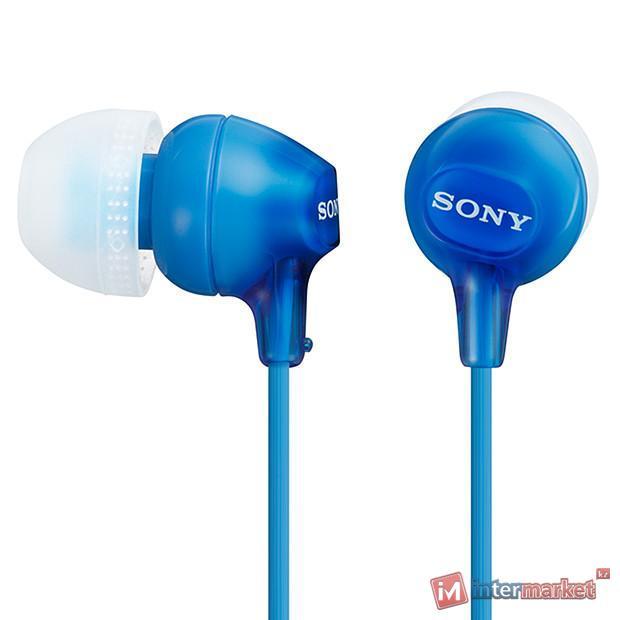 Наушники Sony MDR-EX15LP, Blue